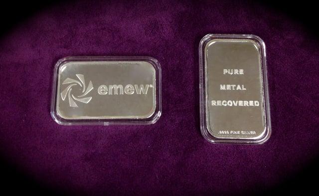 electrowinning of silver